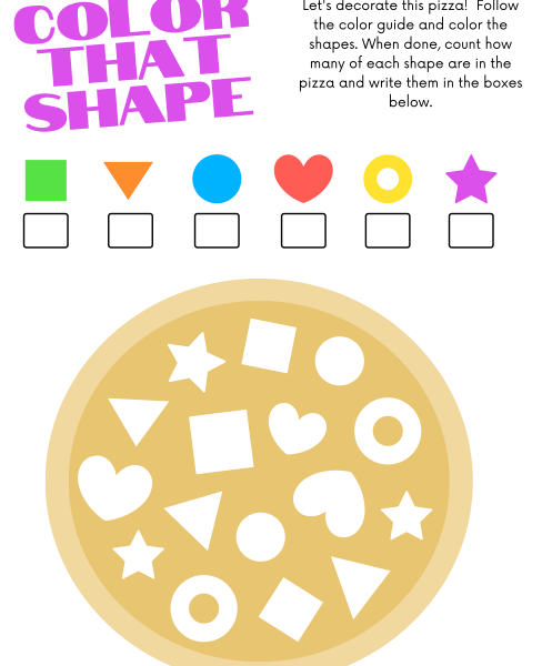 Writing, Shapes and Emotions for Kids